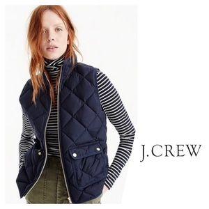 J .Crew Excursion Quilted Vest